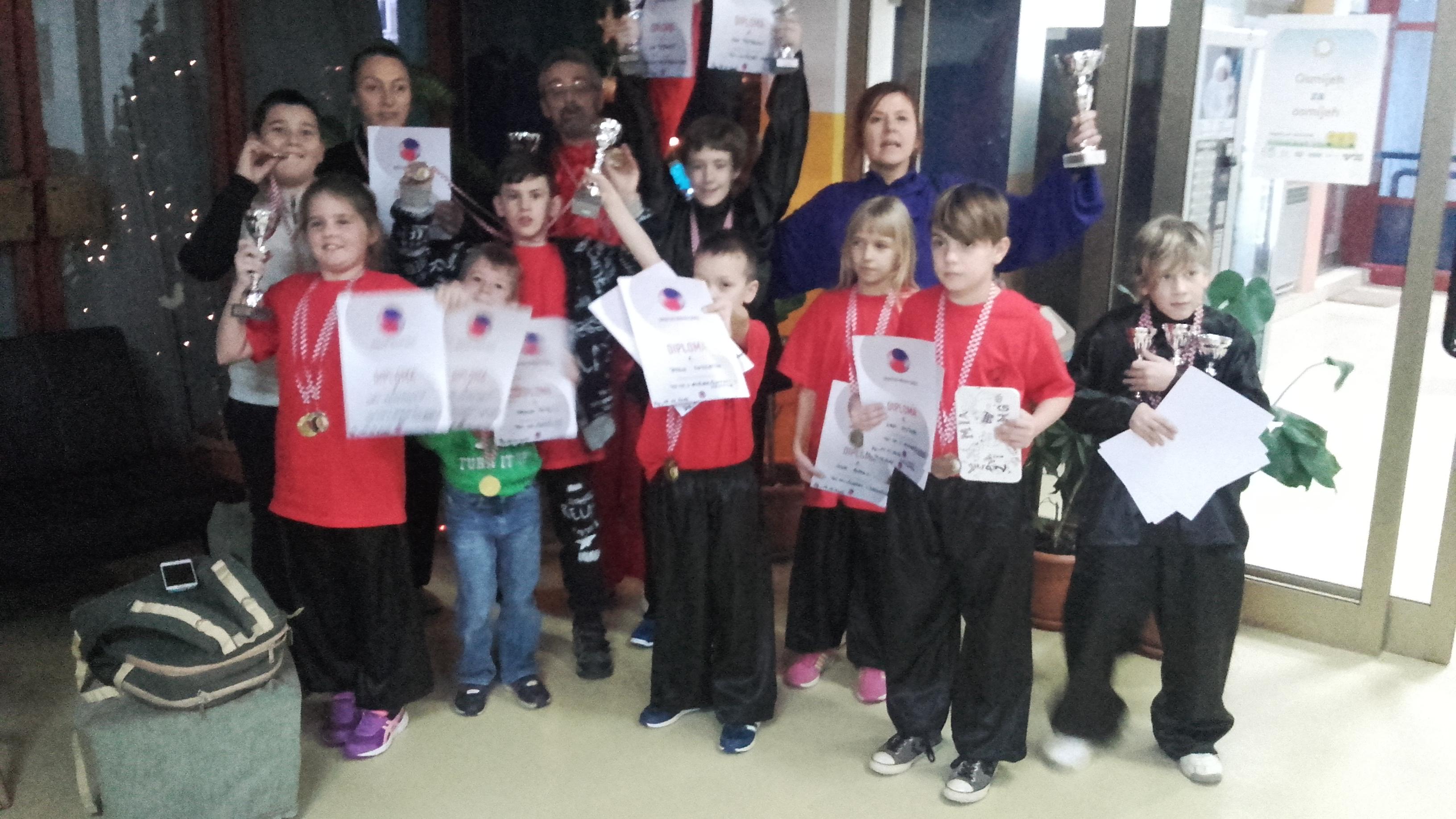 Wushu klub Yuan Tong - Tai Chi Pula državni prvaci
